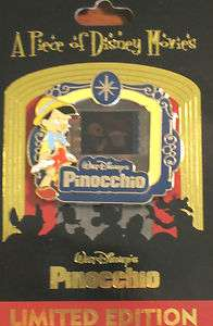 Disney Piece of Movie 2011 Pin Pinocchio LE2000 POM Film Choose Image