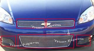 2006 2009 Chevy Impala SS/LT Billet Grille Combo 2008