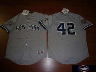 MAJESTIC Yankees MARIANO RIVERA Sewn 2009 WORLD SERIES Baseball JERSEY