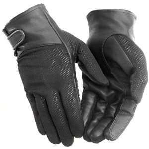 River Road Pecos Mesh Womens Motorcycle Gloves Black 2XL
