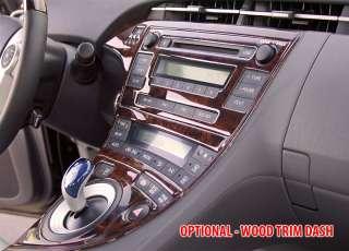 TOYOTA PRIUS LEATHER WOOD STEERING WHEEL 2010 2011 2012   SPORT LUXURY