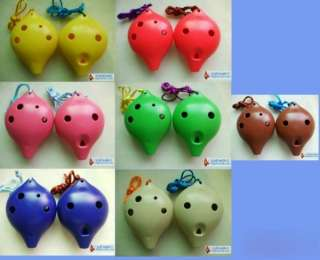 EXQUISITE HEART SHAPED OCARINA FLUTE/MUSIC INSTRUMENT