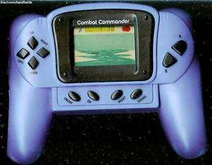 COMBAT COMMANDER electronic handheld game BY TECHNO SOURCE. Game has