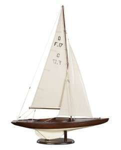 Dragon Olympic Racing yacht Wooden Model Sailboat New |