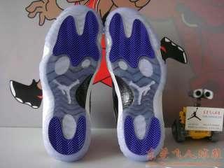 Nike AIR JORDAN 11 Basketball Man Shoes Retro Concord Black & White