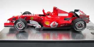 18 Michael SCHUMACHER F248 Ferrari 66 Poles Bar Code & Sponsor