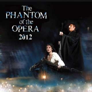 Phantom of the Opera 2012 Wall Calendar