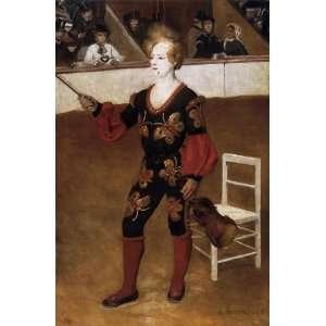 Oil Painting: The Clown (James Bollinger Mazutreek