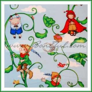 BOOAK Fabric Nursery Rhyme Book Red Riding Hood Baby Pig Gingerbread