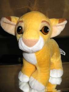 Disney® 93 LioN KiNG (BABY SIMBA) 9 PLuSH DOLL Mattel