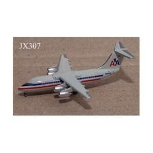 Jet X Braniff L 188 Yellow Model Airplane Toys & Games