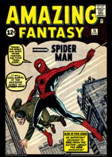 AMAZING FANTASY #15 (Spider Man 1962) Poster Reprint