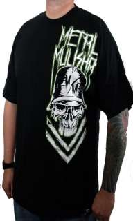 NWT 2011 Metal Mulisha BREAKER Tee Shirt BLACK M XXL