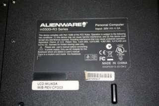 Alienware Area 51 m5500i R3 15.4 WUXGA LCD Barebone
