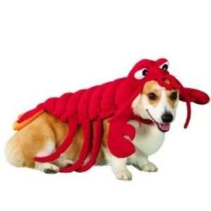 Large Red Lobster Dog Costume