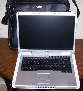 DELL INSPIRON 6000 LAPTOP COMPUTER W/ TARGUS LEATHER CASE WIN XP, WLAN