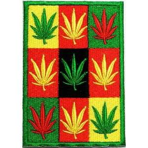 SALE Cheap 2.5 x 3.6 Reggae Cannabis Marijuana Clothing Jacket Shirt
