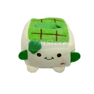 1x cute Japan Tofu mobile cell phone holder Stand Green