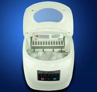 MTN Portable Countertop Desk Ice Cube Maker Machine 33 lbs/Day