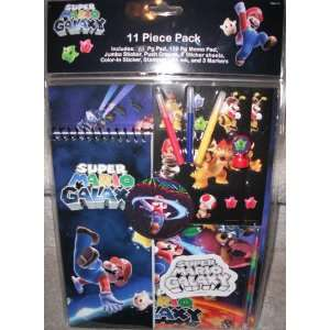Nintendo Wii Super Mario Galaxy   11 Piece Back to School
