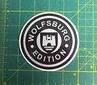 volkswagen Wolfsburg Edition car truck Decals Sticker /Decal Free