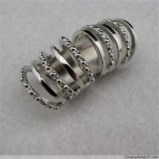 Hot sell Knuckle Silver Armour Cage Hinged Double Bendable Punk Rock