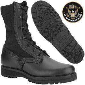Mens Altama Brand # 4168 Mens 3LC™ Black Jungle Mil Spec Boot