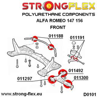 Alfa Romeo Set of Front and Rear Suspension KIT NORMAL