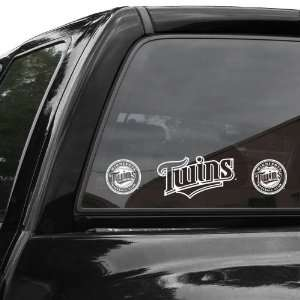 MLB Minnesota Twins 4 x 17 Die Cut Decal Strip
