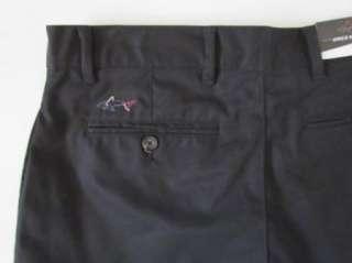 GREG NORMAN Black Wrinkle Resistant Golf Shorts Mens 38