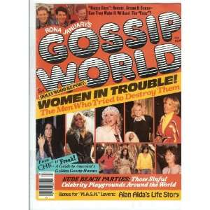 Kate Jackson, Bionic Woman Lindsay Wagner, Cher: Gossip World: Books