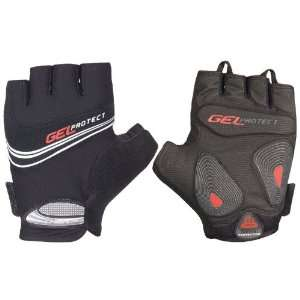 Chiba Mens Gel Protect Gloves   1 Pair, Large, Black