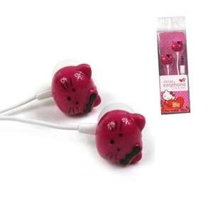 Cute Pink Hello Kitty Earphone Headset 4 Ipod/PC/MAC//MP4