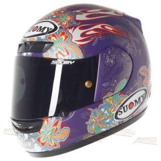 Suomy Apex Flowers Full Face Helmet LG