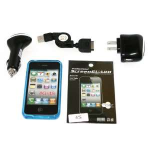 Cell Factory Outlet Brand  High Quality iphone 4/4s Blue