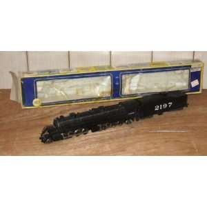 HO SCALE AHM RIVAROSSI STEAM LOCOMOTIVE   AT&SF #2197