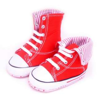 Toddler Infant Baby shoes Boy Girls Sneaker canvas Hiking Boots Soft
