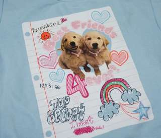 BOXER GOLDEN RETRIEVER BEST FRIENDS SWEATSHIRT PUPPY DOGS 6 6X