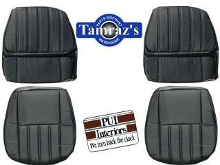 70 1970 Camaro Deluxe Front Seat Covers Upholstery PUI New