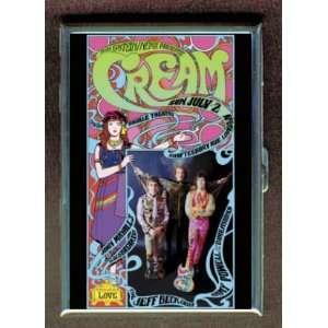 CREAM ERIC CLAPTON 1967 POSTER ID Holder, Cigarette Case