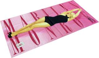 Marilyn Monroe Pink Beach Towel 30X60in Brand New
