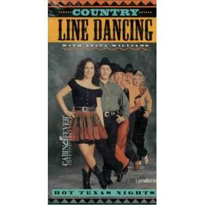 Hot Texas Nites [VHS] Country Line Dancing Movies & TV