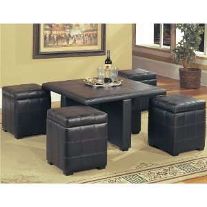 Storage Ottoman Coffee Table Home & Kitchen