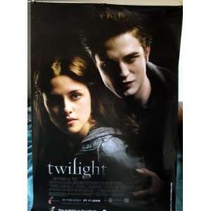 Twilight original MALAY movie poster 27 x 40 for first movie UNIQUE