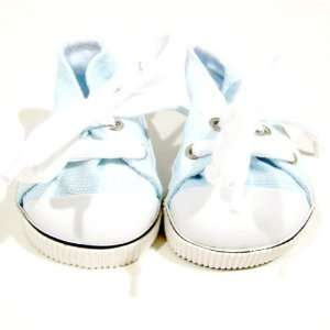 American Girl Doll Clothes Blue Tennis Sneakers Toys