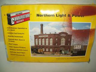 CORNERSTONE SERIES NORTHERN LIGHT & POWER N SCALE MODEL KIT #933 3214