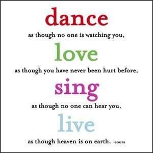 Dance Love Sing Holiday Card 10 Pk