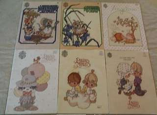 14 Cross Stitch Books Precious Moments Noah Ark Merry Mouse Rhymes