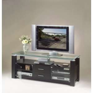 65 Inch Wide Credenza Projection TV Stand AV Combo in