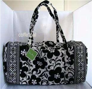 NWT Vera Bradley Night and Day Large Duffel Bag Handbag